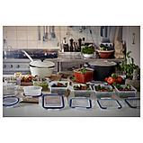 ИКЕА/365+ Контейнер для продуктов с крышкой, прямоугольн формы, пластик, фото 4