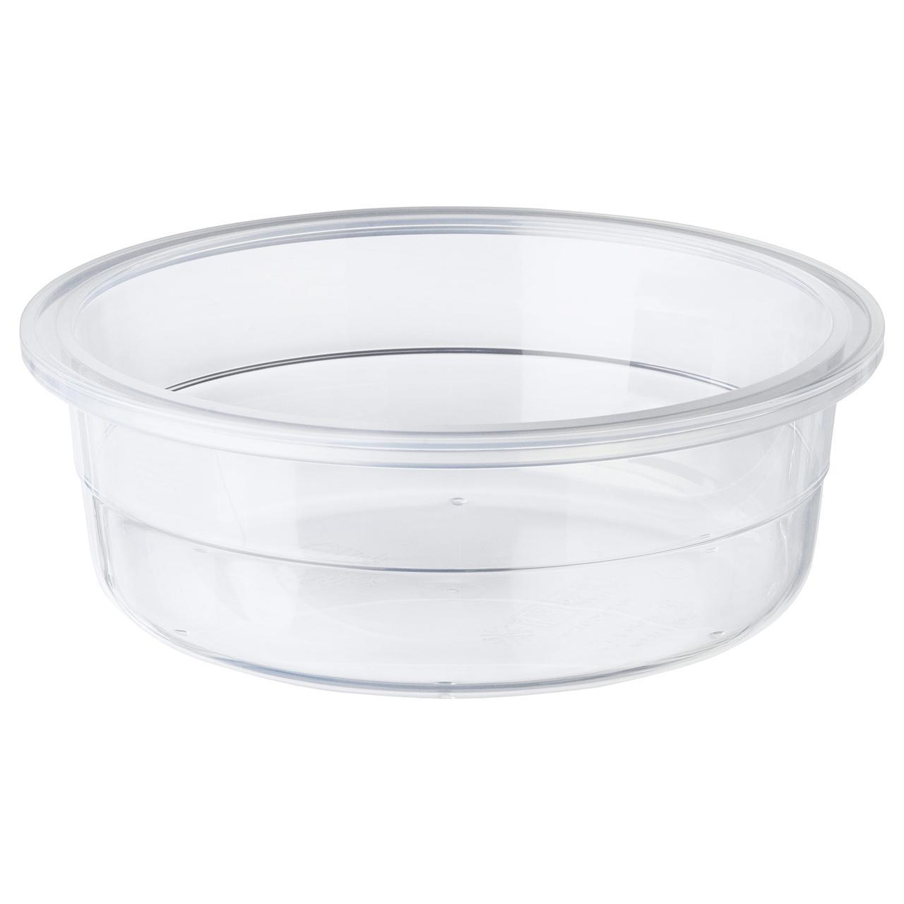 ИКЕА/365+ Контейнер для продуктов, круглой формы, пластик