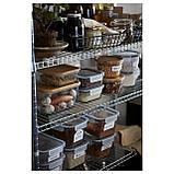 ИКЕА/365+ Контейнер для продуктов, круглой формы, пластик, фото 5