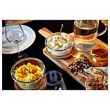 ИКЕА/365+ Контейнер для продуктов с крышкой, круглой формы стекло, стекло бамбук, фото 2