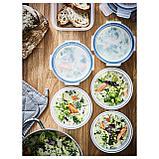 ИКЕА/365+ Контейнер для продуктов с крышкой, круглой формы, пластик, фото 2