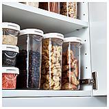 ИКЕА/365+ Контейнер+крышка д/сухих продуктов, прозрачный, белый, фото 4