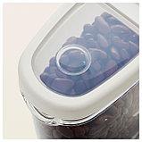 ИКЕА/365+ Контейнер+крышка д/сухих продуктов, прозрачный, белый, фото 5