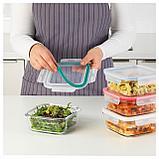 ИКЕА/365+ Уплотнительная прокладка, четырехугольной формы, разные цвета разные цвета, фото 2