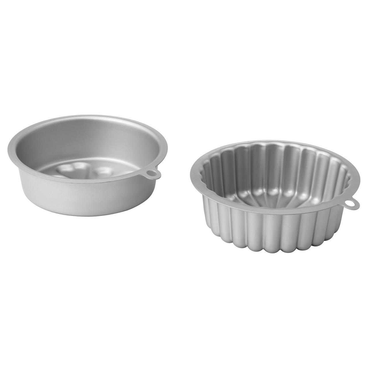 ВАРДАГЕН Форма для выпечки, серебристый