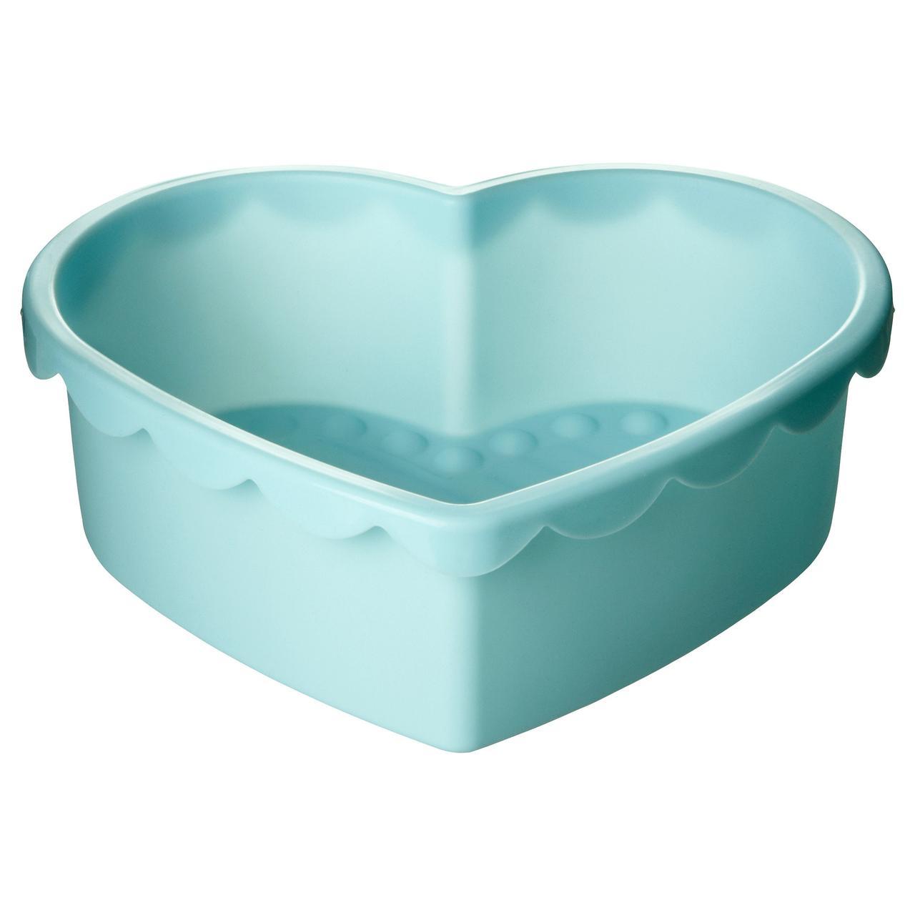 СОККЕРТАКА Форма для выпечки, в форме сердца голубой