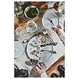 КРУСТАД Тарелка десертная, светло-серый, фото 8