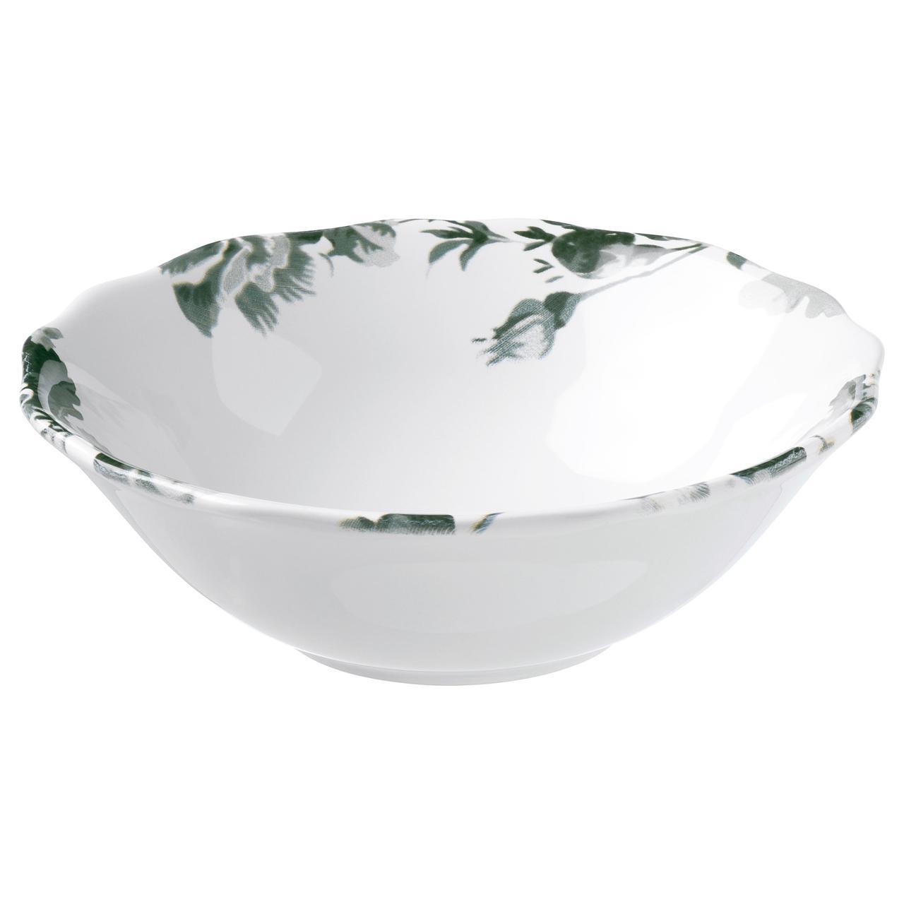 АРВ Миска, белый, зеленый
