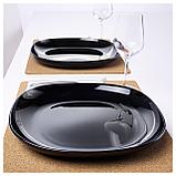 БАККИГ Тарелка, черный, фото 2