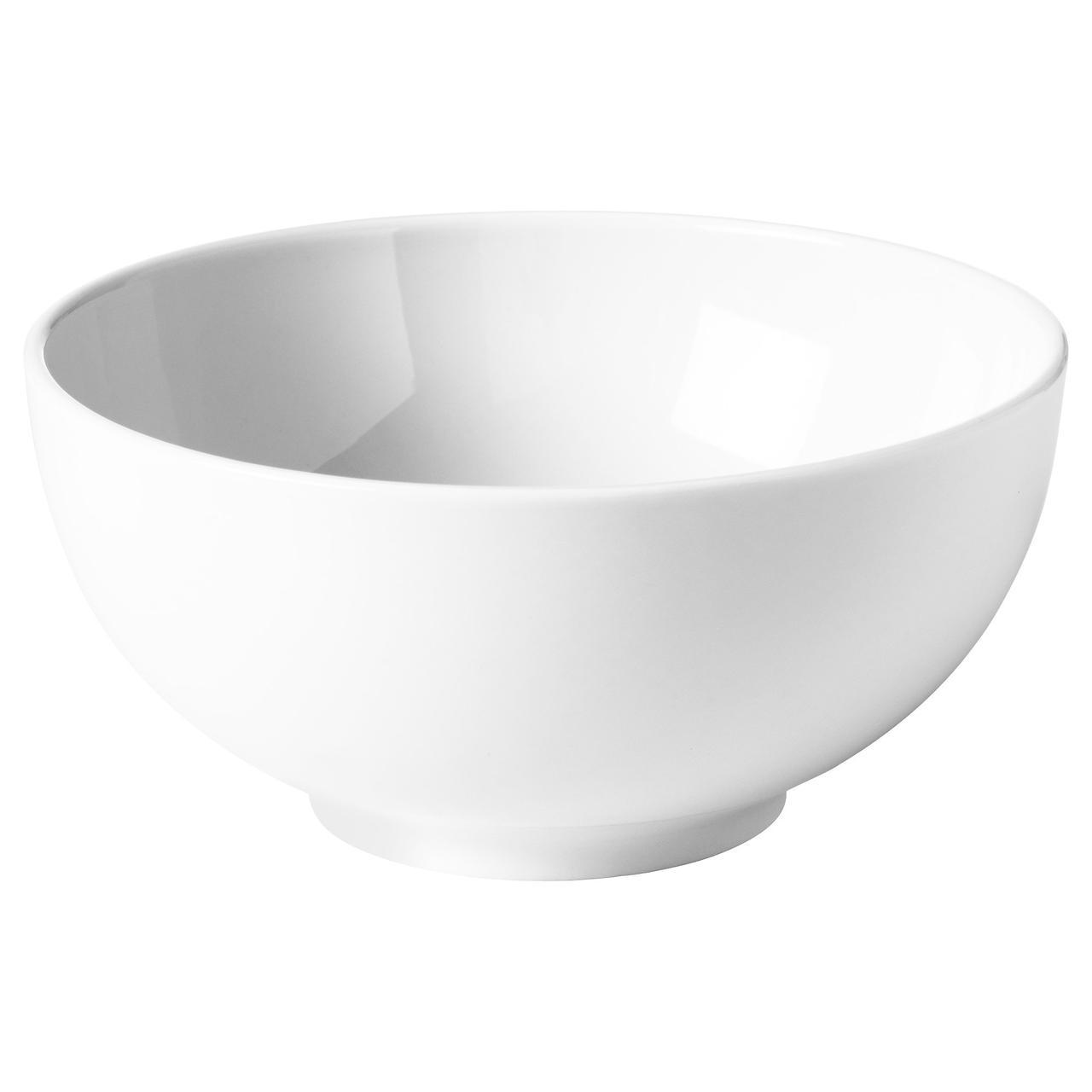 ИКЕА/365+ Миска, с округлыми стенками белый