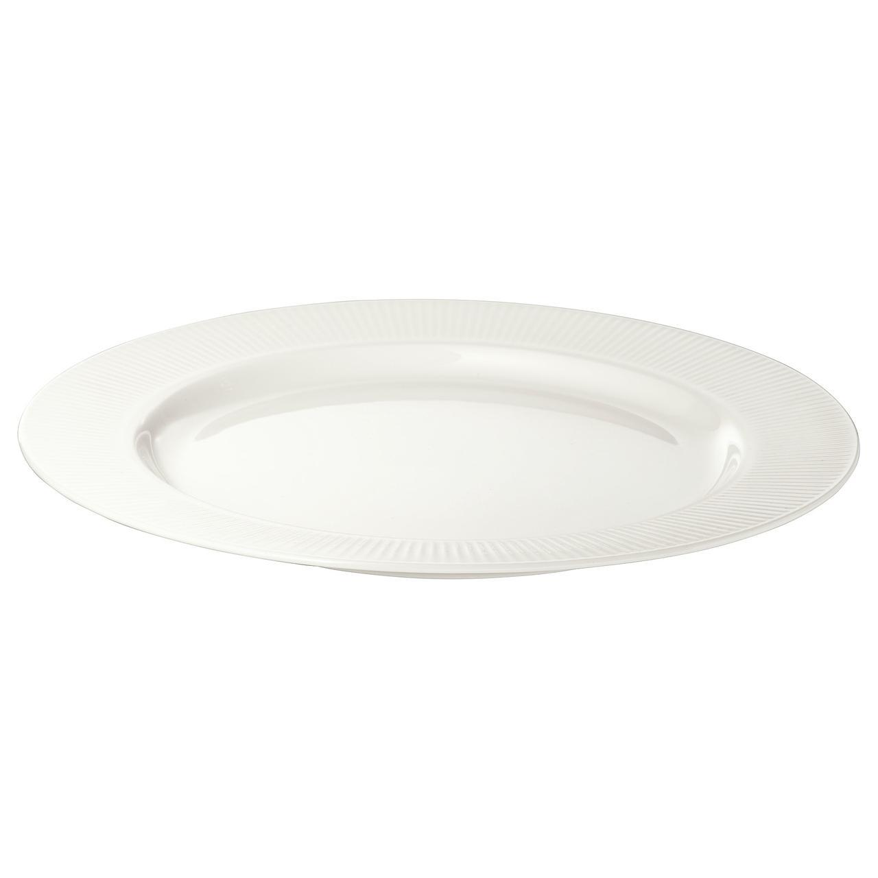 ОФАНТЛИГТ Тарелка десертная, белый