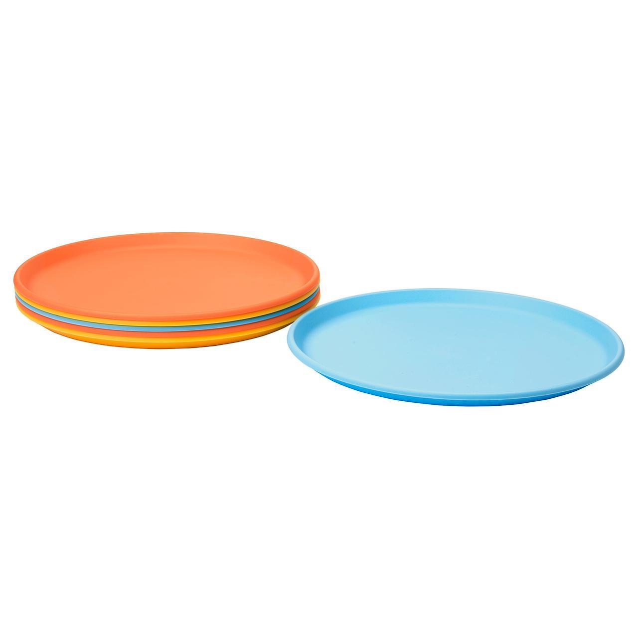 СОММАР 2019 Тарелка десертная, разные цвета
