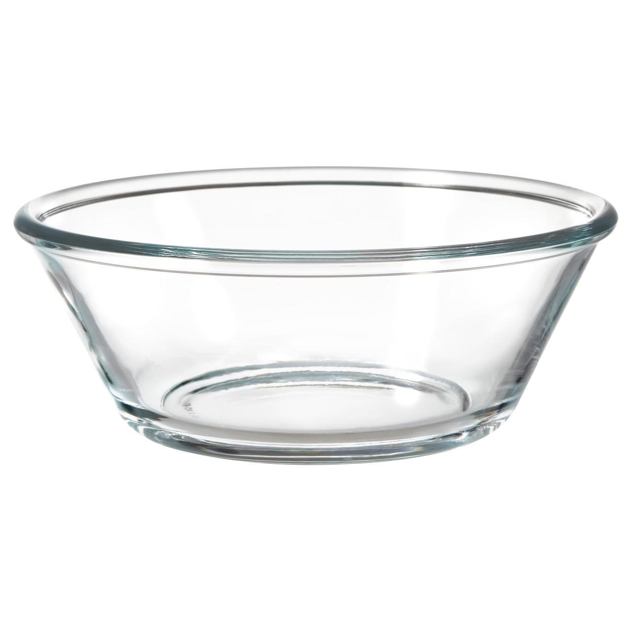 ВАРДАГЕН Сервировочная миска, прозрачное стекло