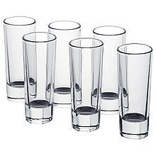 ГРОСЕЙ Стопка, прозрачное стекло