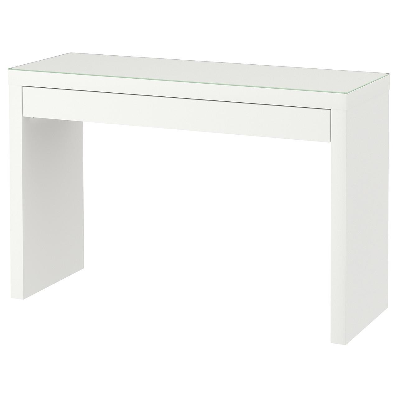 МАЛЬМ Туалетный столик, белый