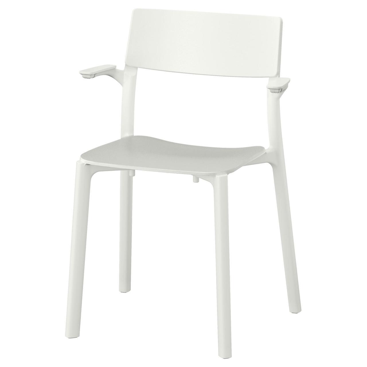 ЯН-ИНГЕ Легкое кресло, белый