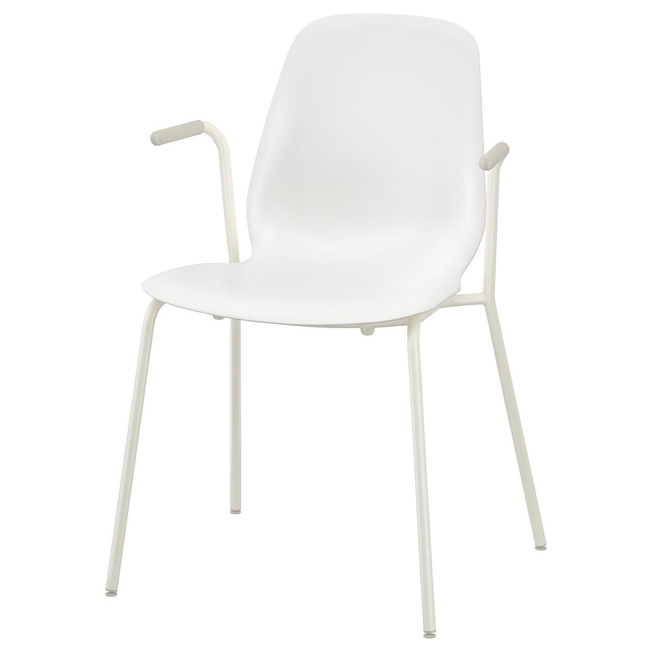 ЛЕЙФ-АРНЕ Легкое кресло, белый, Дитмар белый