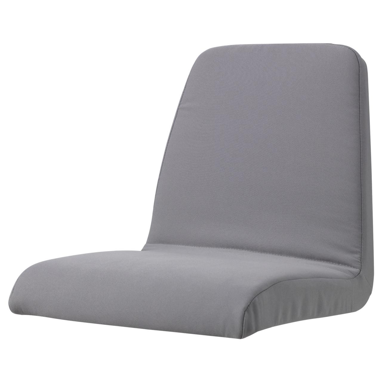 ЛАНГУР Мягкий чехол детского стула, серый