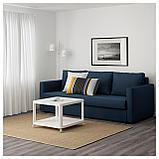 ФРИХЕТЭН 3-местный диван-кровать, Шифтебу темно-синий, фото 2