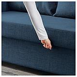 ФРИХЕТЭН 3-местный диван-кровать, Шифтебу темно-синий, фото 4