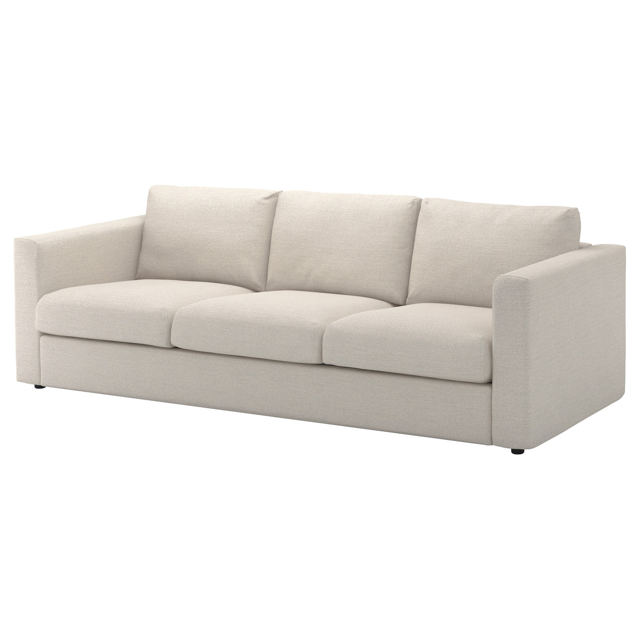 ВИМЛЕ 3-местный диван, Гуннаред классический серый