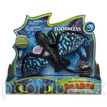 Беззубик Игрушка - Большая фигурка дракона со звуковыми и световыми эффектами