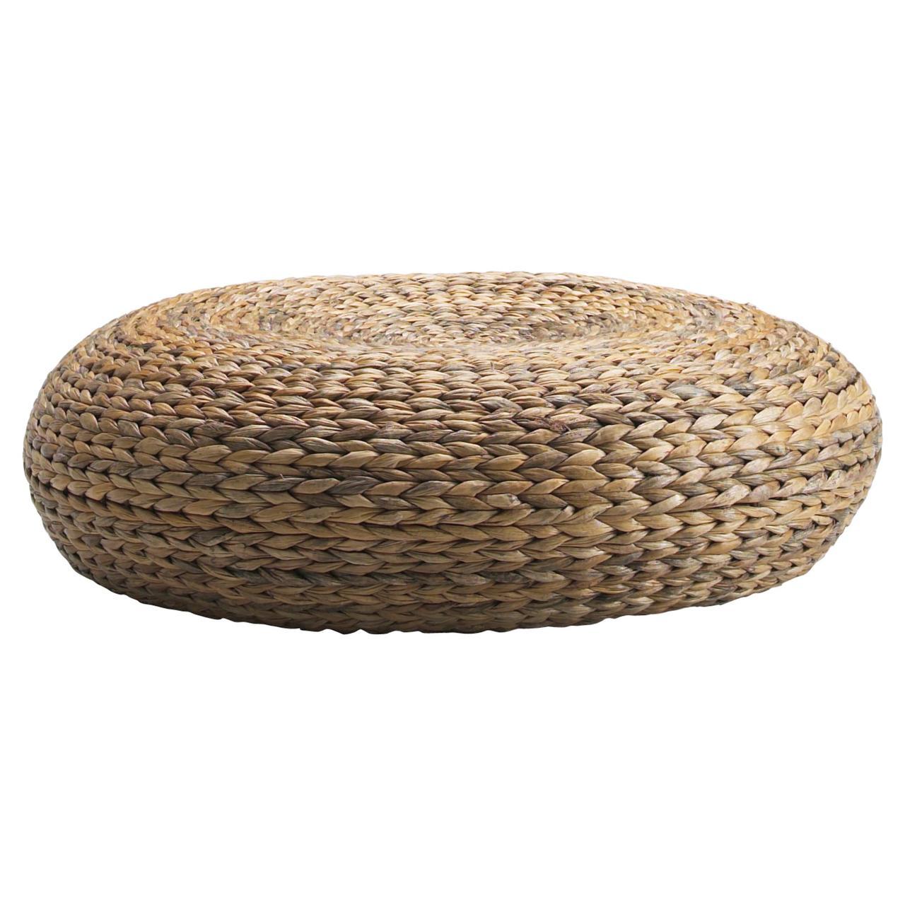 АЛЬСЕДА Пуф-табурет, волокно банана