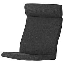 ПОЭНГ Подушка-сиденье на кресло, Шифтебу темно-серый