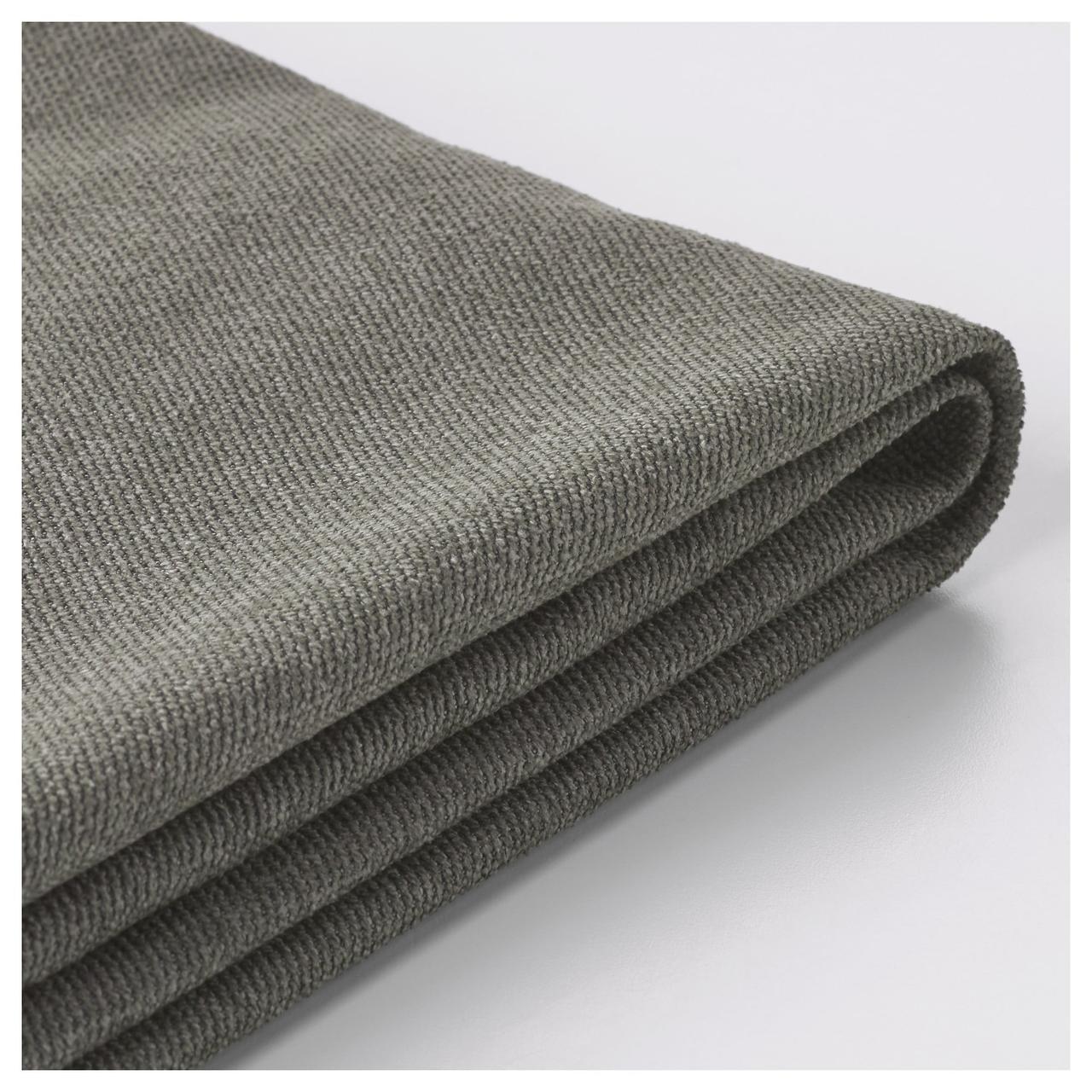 ВИЛАСУНД Чехол на 3-местный диван-кровать, Бурред темно-коричневый