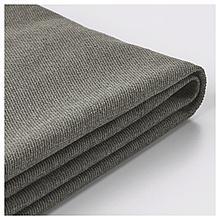 ВИЛАСУНД Чехол на диван-кровать с козеткой, Бурред темно-коричневый