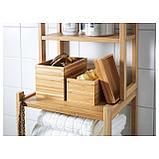 ДРАГАН Набор для ванной, 4 предмета, бамбук, фото 7