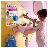 ЛОДДАН Панель с аксессуарами,6предм., с присосками, разные цвета разные цвета, фото 7