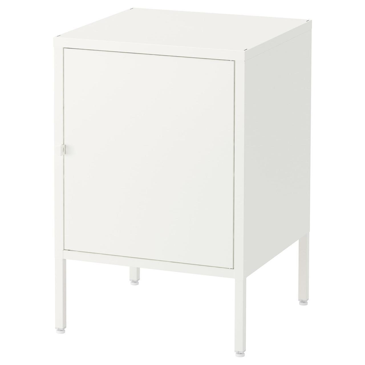 ХЭЛЛАН Комбинация для хранения с дверцами, белый