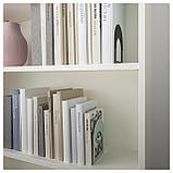 БОТТНА Ограничитель для книг, светлый серо-зеленый, антрацит, фото 2