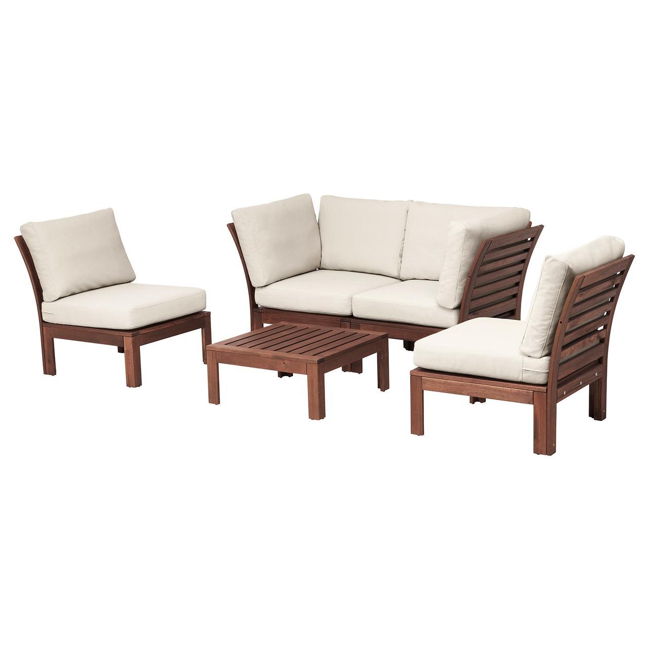 ЭПЛАРО, 4-местный комплект садовой мебели