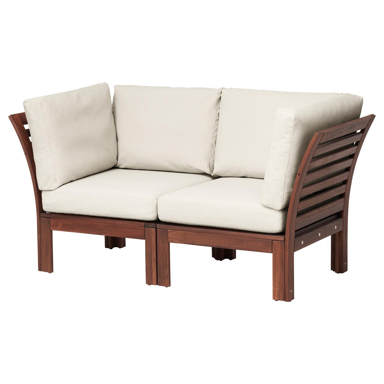 ЭПЛАРО, 2-местный модульный диван, садовый