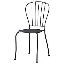 ЛЭККЭ Садовый стул, серый