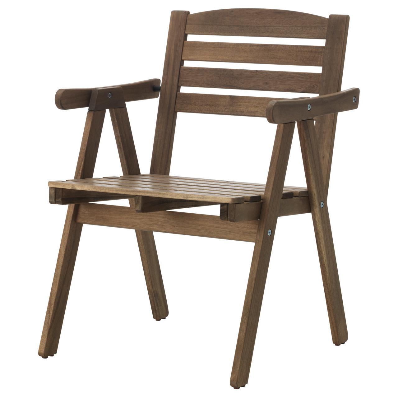 ФАЛЬХОЛЬМЕН Садовое кресло, серо-коричневый