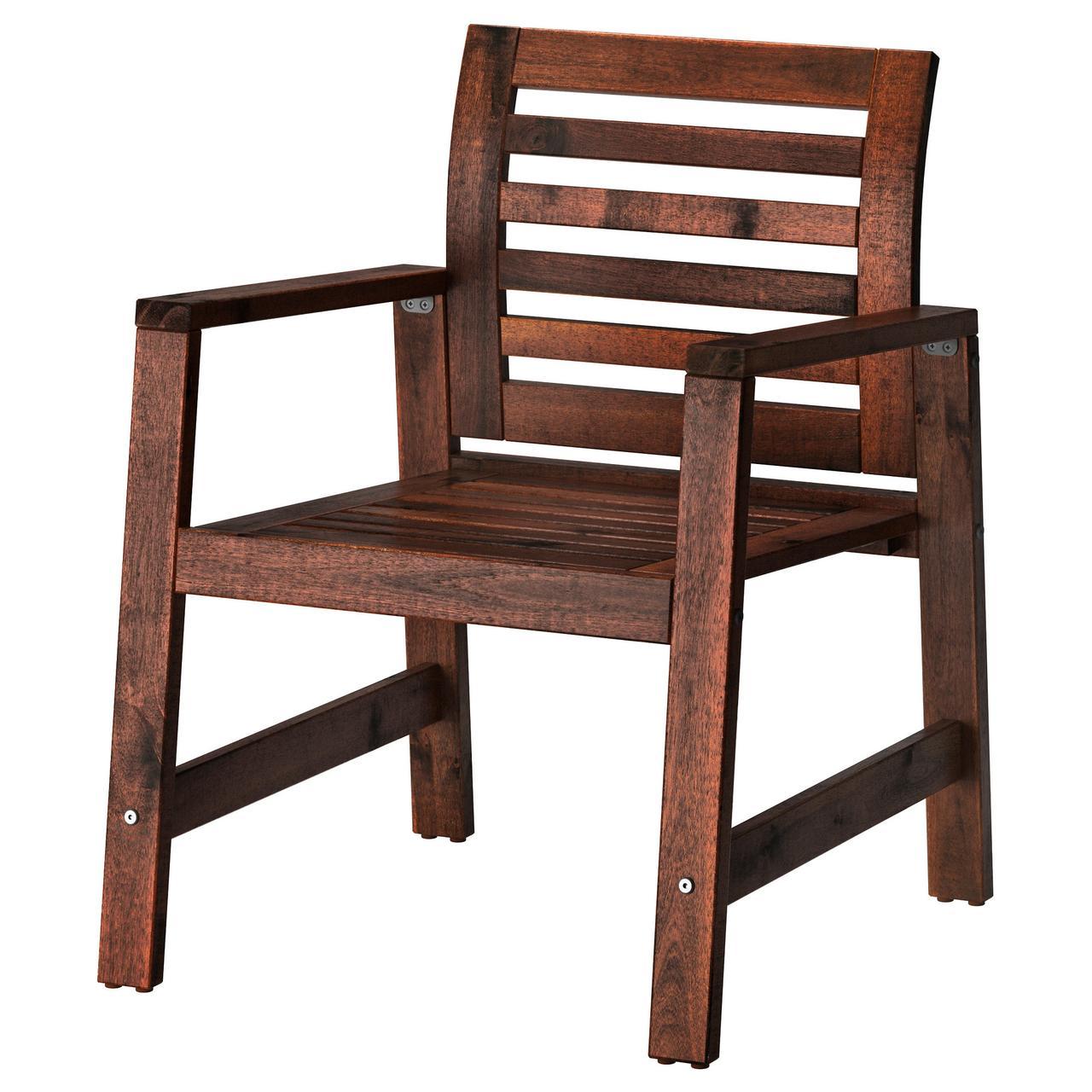 ЭПЛАРО Садовое кресло, коричневая морилка