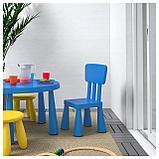 МАММУТ Детский стул, д/дома/улицы, синий, фото 2