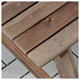 РЕСО Детский стол д/пикника, серо-коричневая морилка, фото 3