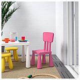 МАММУТ Детский стул, д/дома/улицы, розовый, фото 2