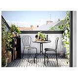ЛЭККЭ Стол+2стула,д/сада, серый, фото 6