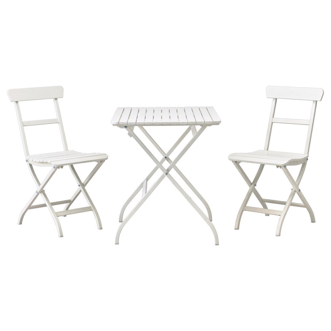 МЭЛАРО, Стол+2стула,д/сада, белый