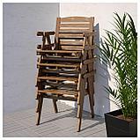 ФАЛЬХОЛЬМЕН, Стол+4 кресла, д/сада, фото 2