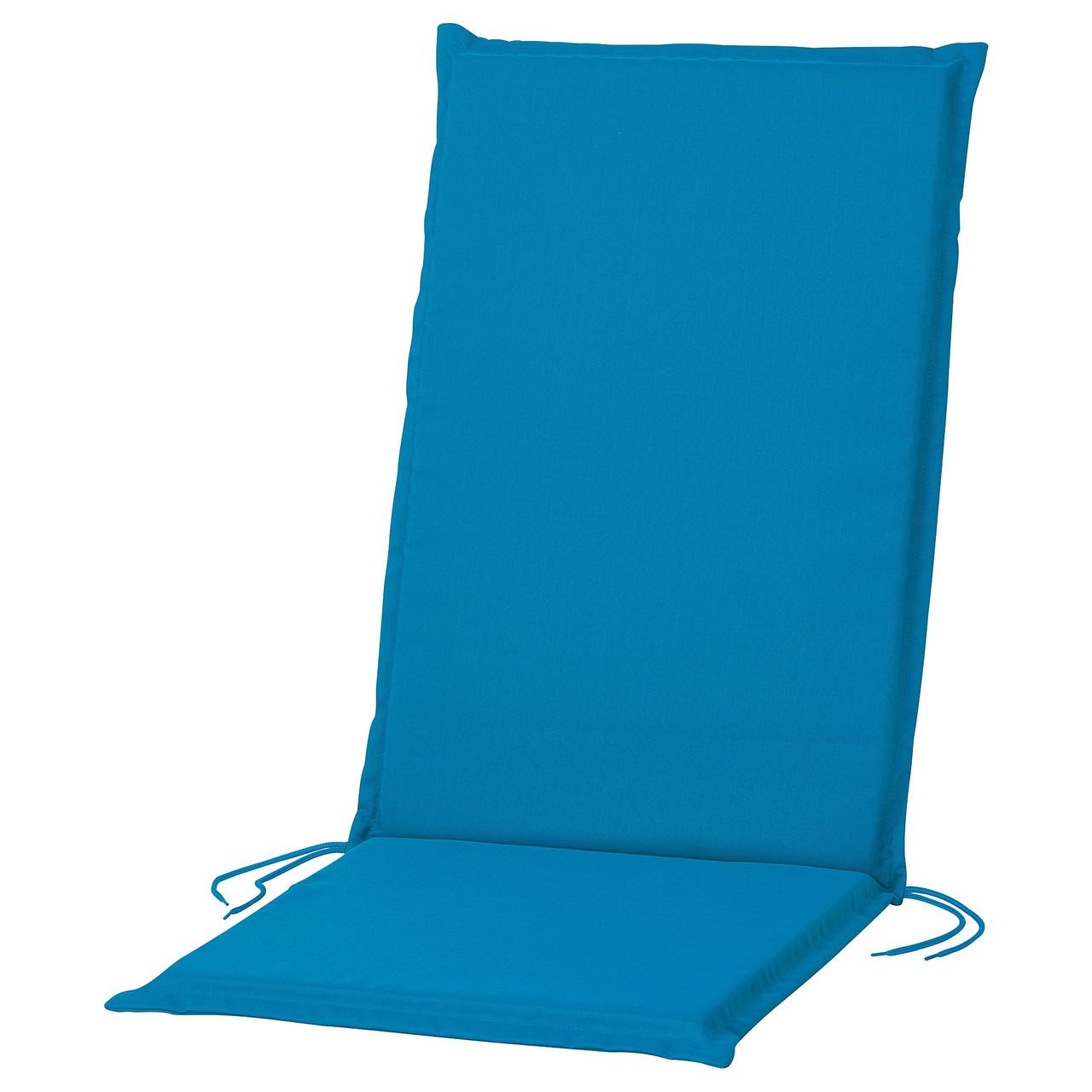 НЭСТОН Подушка на садовую мебель, синий