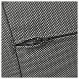 ФРЁСЁН/ДУВХОЛЬМЕН Подушка на сиденье,д/садовой мебели, темно-серый, фото 3