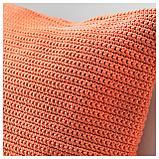 СЁТХОЛЬМЕН Чехол на подушку, д/дома/улицы, оранжевый, фото 2