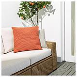 СЁТХОЛЬМЕН Чехол на подушку, д/дома/улицы, оранжевый, фото 3