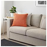 СЁТХОЛЬМЕН Чехол на подушку, д/дома/улицы, оранжевый, фото 4